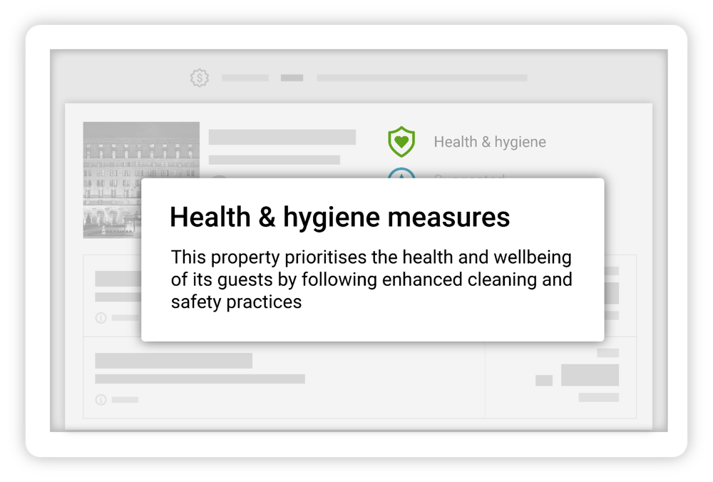 Hotel health and hygiene